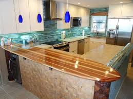 surfboard furniture. Surfboard Countertop For A Kitchen Beach-style-kitchen Furniture H
