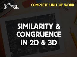 similarity congruence complete unit of work
