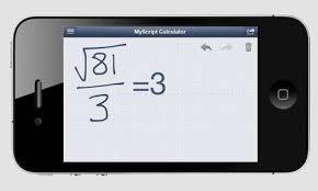 Myscript Calculator Er En Gratis Lommeregner Hvor Du Tegner