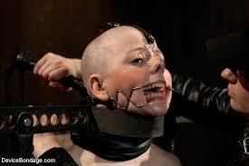 Shaved head bondage humiliation