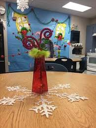 the grinch who stole christmas party decorations for teachers lounge whoville house out of butcher paper