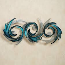 perfect storm metal wall sculpture blue touch to zoom on brown and teal metal wall art with perfect storm metal wall sculpture by jasonw studios
