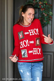 diy ugly sweaters interchangeable ugly sweater no sew and easy sewing projects
