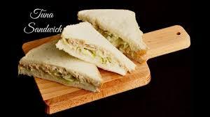 How To Make A Tuna Sandwich With Mayo Youtube