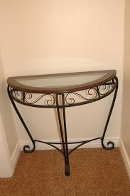 half circle end table 25 00 sold