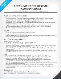Retail Manager Resume Examples Resume Layout Com