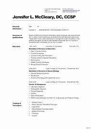 Resume For Physical Therapist Resume For Physical Therapy Unique Certified Nursing