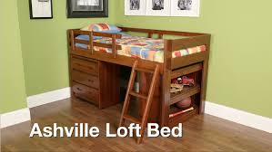 Slumberland Bedroom Furniture Slumberland Furniture Video Exclusive Ashville Loft Bed Youtube