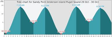 Sandy Point Anderson Island Puget Sound Tide Times Tides