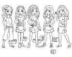 Игры раскраски лего для девочек