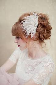 615 best how to wear your hair pieces images on pinterest Wedding Hair Pieces With Feathers bridal hair piece bridal feather hair piece gold by loboheme, $135 00 Flower and Feather Hair Pieces