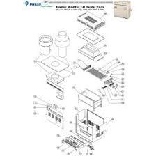 pentair pentair minimax ch heater parts 150m 400m