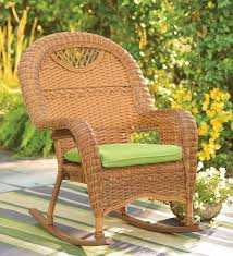 outdoor wicker rocking chair closeout