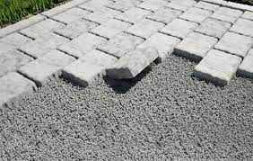 concrete pavers or slabs