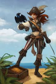 Image result for girl pirate