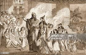 Xerxes I, the Great, c.519-465 B.C. Xerxes I, the King of Persia, is...  News Photo - Getty Images