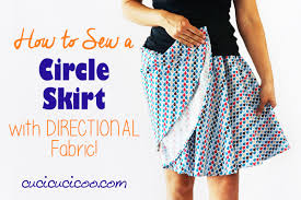 Circular Skirt Designs Free Template How To Make A Circle Skirt With Directional