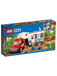 LEGO City 60182 Caravan and Pickup Truck at John Lewis & Partners