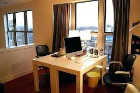 Home office desks for two Stylish Office Desk For Two Two Person Desks Two Person Home Office Desk Home Office Double Desk Office Desk For Two Kindlefreebooksinfo Office Desk For Two Two Person Corner Desk Office Desk Plants