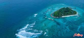 ... Aerial View - Vivanta by Taj Coral Reef Maldives - 5 Star Island Beach  Resort Hotel ...