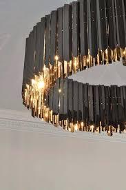 black chandelier lamp jeweled best art ideas on model silk shades