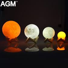 2018 agm led night light moon lamp 3d print moonlight luna touch changeable touch sensor nightlight for baby gift home decor from yuancao 20 66 dhgate