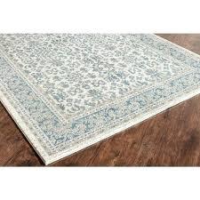 ivory area rug seafoam rugs blue