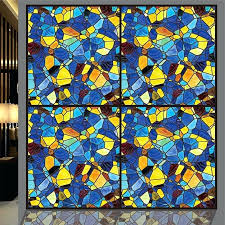 window glass paints abstract stained glass window stickers opaque self adhesive or static cling paint arts
