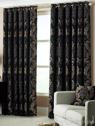 popular of red and gold damask curtains inspiration with