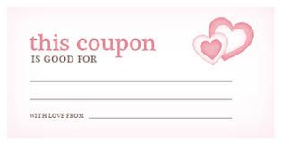 Valentine's Day Coupon Template | Discount Templates Valentine's Day Coupon Template