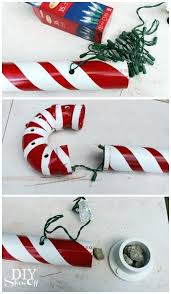 large candy cane decorations outdoors show off large candy cane outdoor decoration