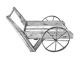 peddler cart with 8 spoke wheel by byegone work
