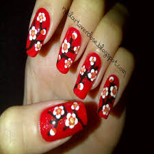 Unique Nail Design Chinese New Year