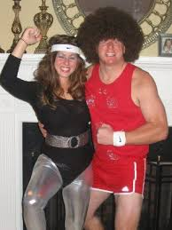 richard simmons 1980s. jane fonda and richard simmons halloween costume. love this one, how fun! 1980s i