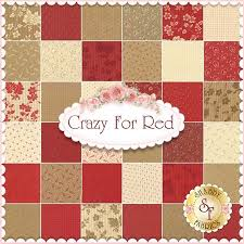 Image result for crazy for red fabric | fabric | Pinterest | Red ... & Image result for crazy for red fabric Adamdwight.com
