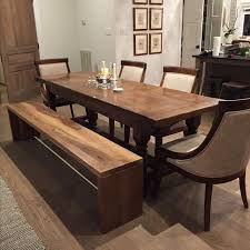 walnut dining room chairs hand crafted handcrafted modern walnut plank bench for an accent