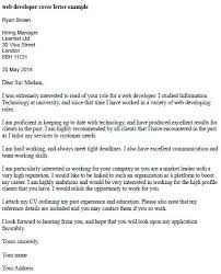 Programmer Cover Letter Example Resume Pro