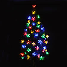 solar fairy holiday string lights 21ft 50 led multi color gardens christmas trees lights decoration indoor outdoor use in led string from lights
