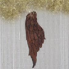 Engelflügel Rost Zum Hängen Edelrost Flügel