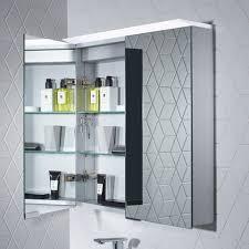 Aluminium Bathroom Cabinets Roper Rhodes Venture Designer Aluminium Illuminated Bathroom