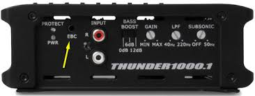 """about external or remote bass controls mtx audio serious about Mtx Thunder 6000 Wiring Diagram if your amplifier does not have a dedicated ebc port, you can use a universal ebc MTX Thunder 6000 10"""" Subwoofer"""