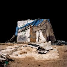 photography essays dezeen alicja dobrucka photographs the seemingly temporary dwellings of a west bank village