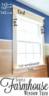 stunning i was surprised that this diy farmhouse window trim actually seems easy re farmhouse window