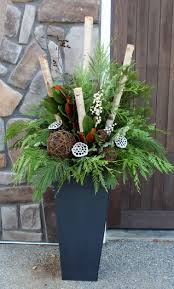 Christmas Urn Decorations For Outdoors