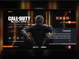 Dlc Designs Austin Tx Ui Design Call Of Duty Black Ops 3 By