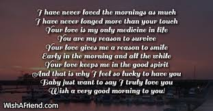 Good Morning My Love Quotes Mesmerizing Good Morning Poems For Her