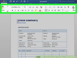 Microsoft Word Teplates 6 Ways To Use Document Templates In Microsoft Word Wikihow