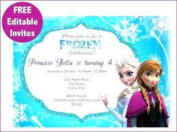 Frozen Birthday Party Invites Multivitaminsupplement
