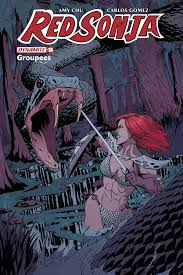 DEC171440 - RED SONJA #10 GROUPEES EXC VAR - Previews World