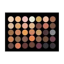 35 Color Neutral Eyeshadow Palette - Nigel Beauty
